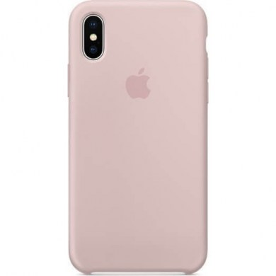 faa304895b Apple iPhone XS   X Silicone Case Pink Sand MTF82