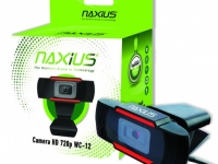 Webcam Naxius Hight Definition 720p with Microphone Μαύρο Black