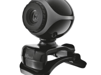 Webcam Trust Exis 17003 480p with Microphone Μαύρο Black